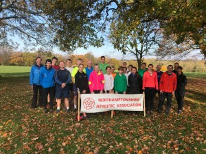 County X-Country training 2